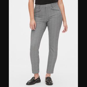 NEW Gap Skinny Ankle Plaid Stretch Pants